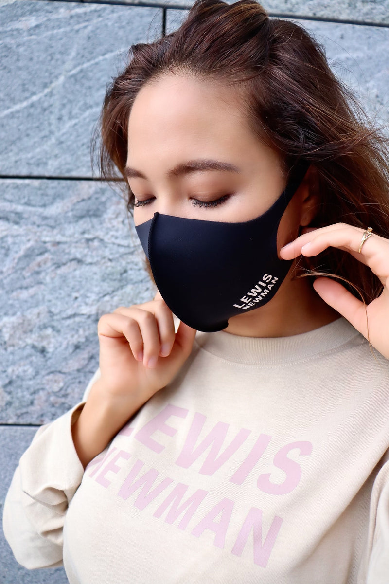 unisex washable mask【Black】