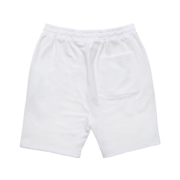 Screen logo print Half pants【White】