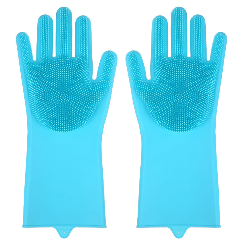 bathroom and toilet cleaning gloves