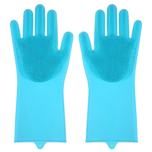 Open image in slideshow, bathroom and toilet cleaning gloves