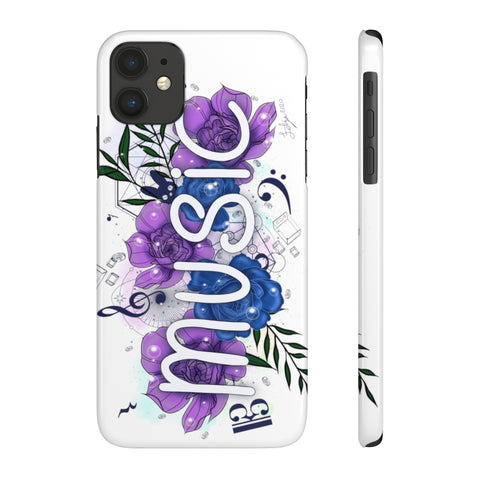 Music Case Mate Slim Phone Cases