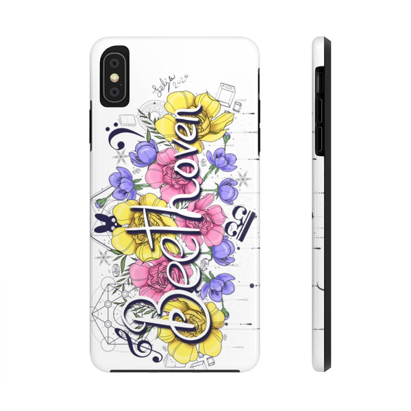 Beethoven Flowers Case Mate Tough Phone Cases