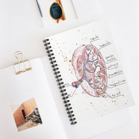 Spleen AnatSpiral Notebook - Ruled Line