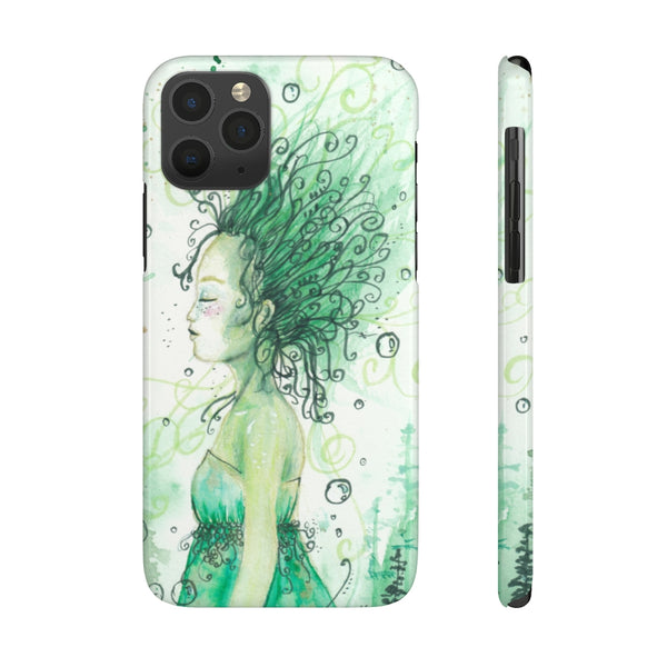 Forest Goddess Case Mate Slim Phone Cases