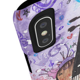 Violin Rainbow Slim Phone Cases