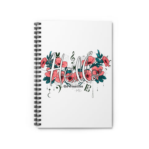Hello Go Practice Spiral Notebook - Ruled Line