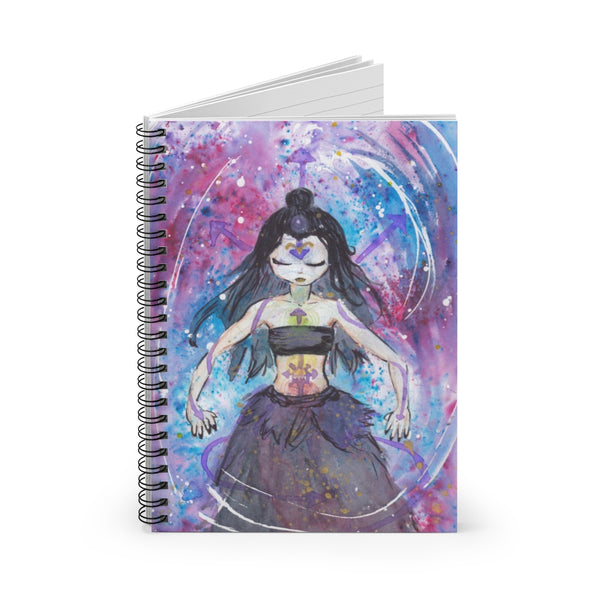 Chaos Witch Spiral Notebook - Ruled Line