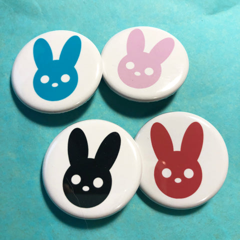 Harmony Rabbit Button Set Multi Color