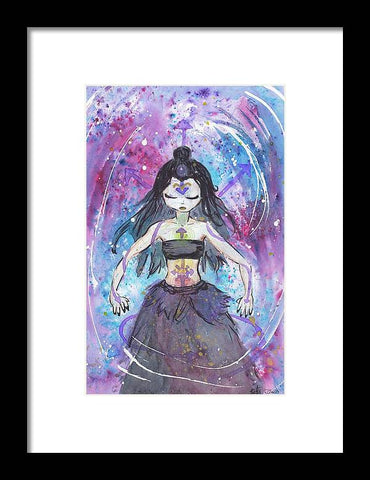 Chaos Witch - Framed Print