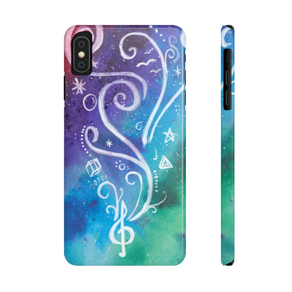 Music Creation Slim Phone Cases