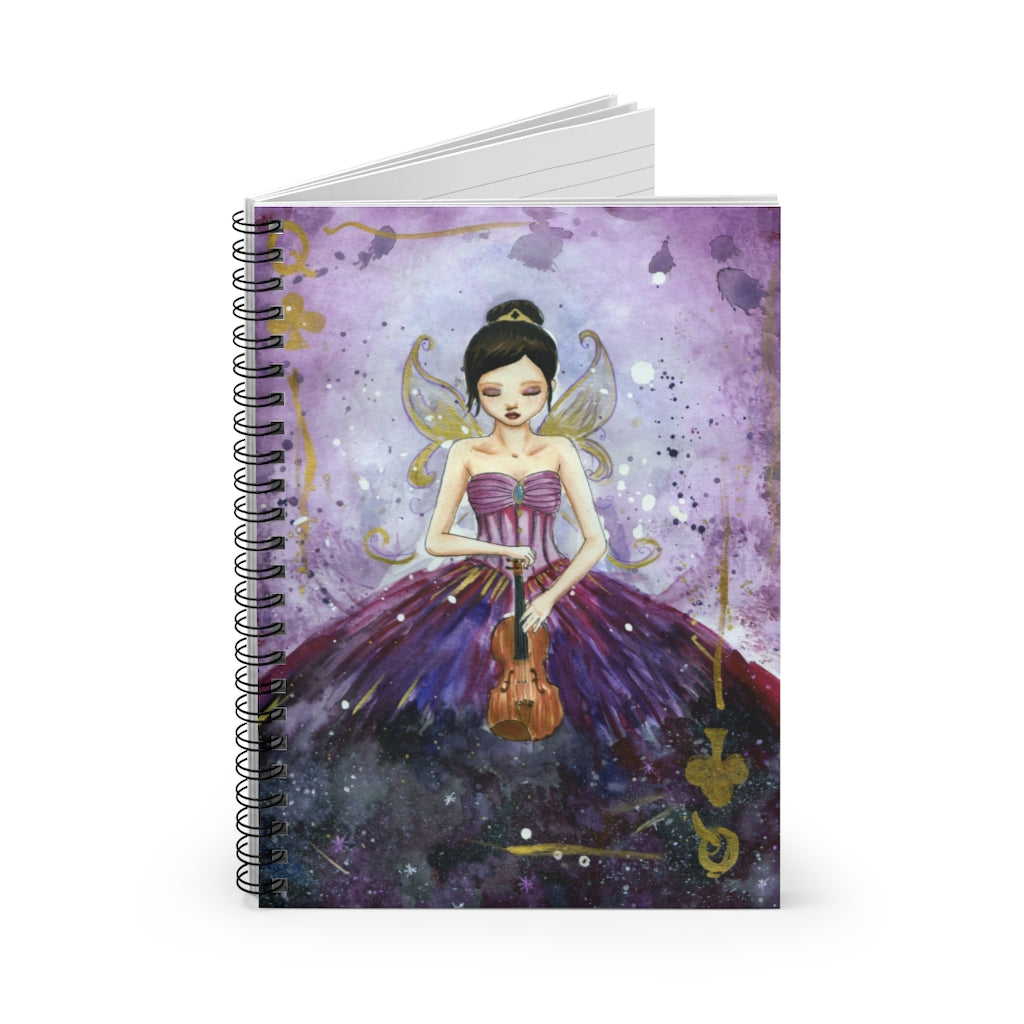 Violin Fairy Queen Spiral Note