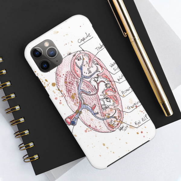 Spleen Anatomy Case Mate Tough Phone Cases