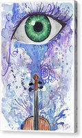 Eye Violin - Canvas Print