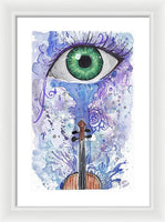 Eye Violin - Framed Print