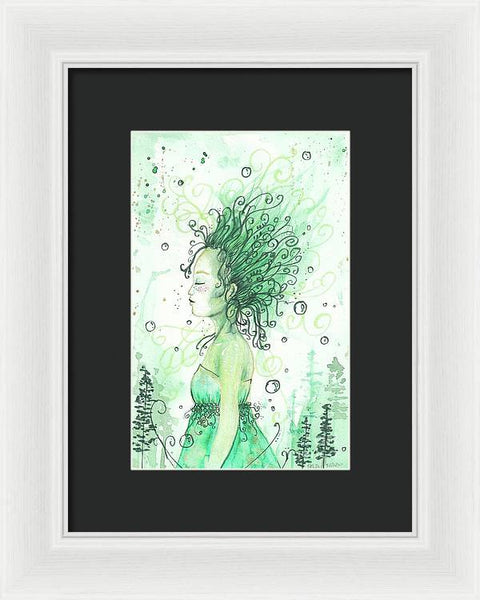 Forest Goddess - Framed Print