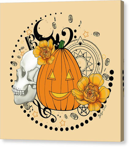 Halloween Pumpkin - Canvas Print