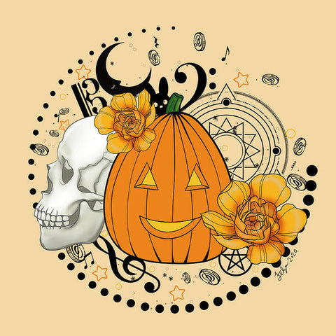 Halloween Pumpkin - Art Print