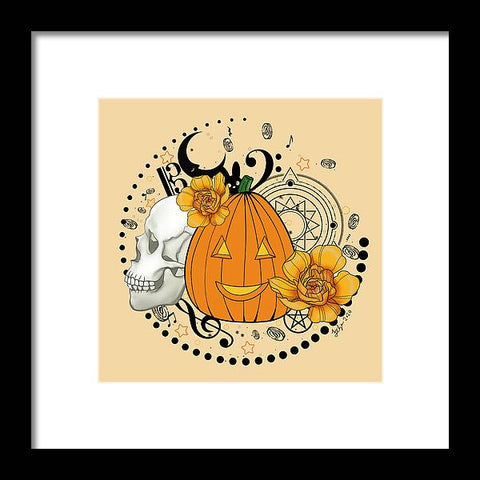 Halloween Pumpkin - Framed Print