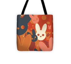 Harmony Rabbit Fall Colors - Tote Bag