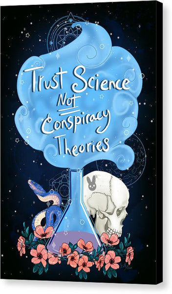 Trust Science - Canvas Print
