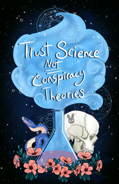 Trust Science - Art Print
