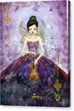 Violin Fairy Queen - Canvas Print