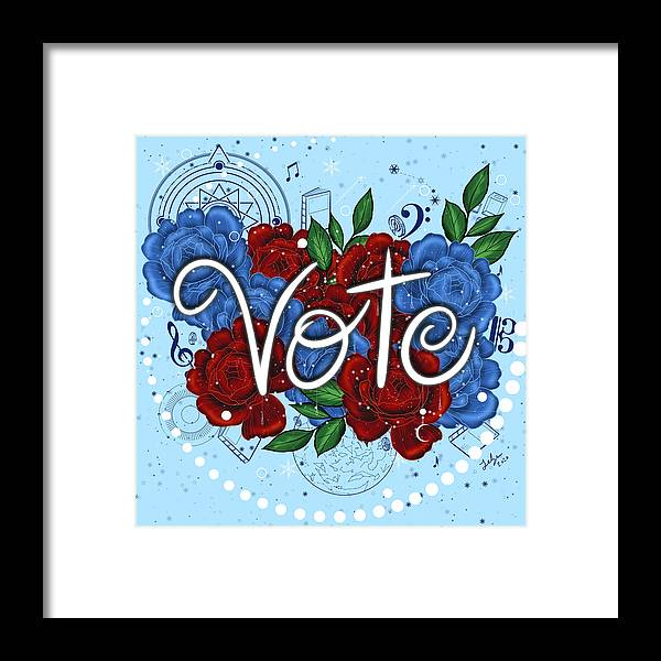 Vote - Framed Print