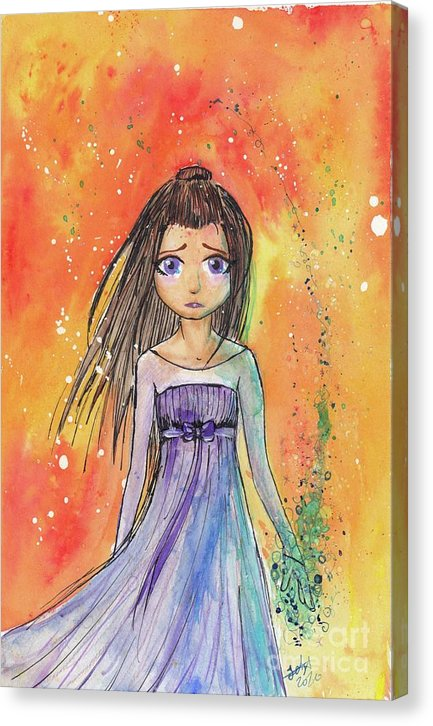Witch Princess - Canvas Print