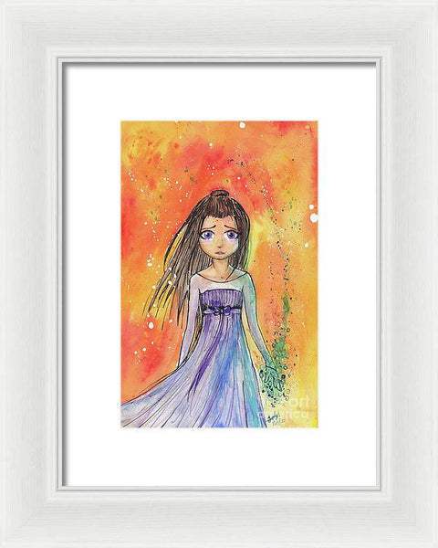 Witch Princess - Framed Print