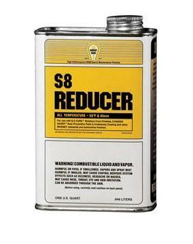 Magnet Paint S8-04 Chassis Saver Frame Paint Thinner S8 Reducer 1 Quart - WeGotAutoPaint