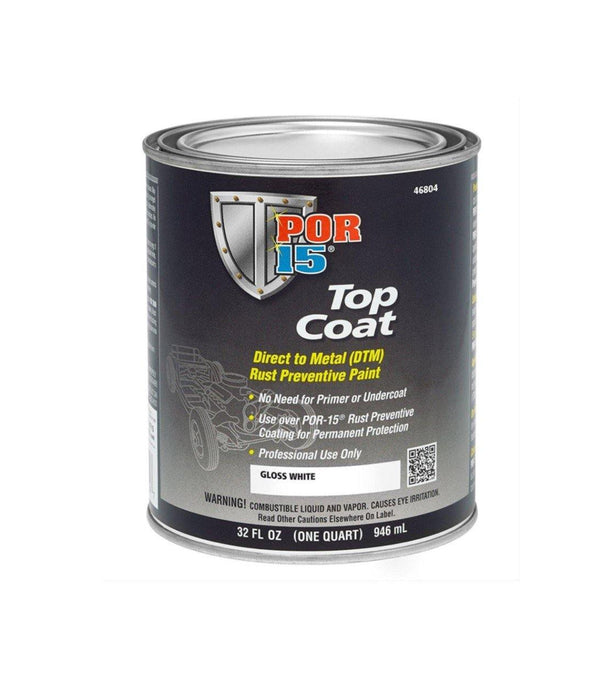 POR-15 46804 Top Coat Paint 1 Quart - WeGotAutoPaint