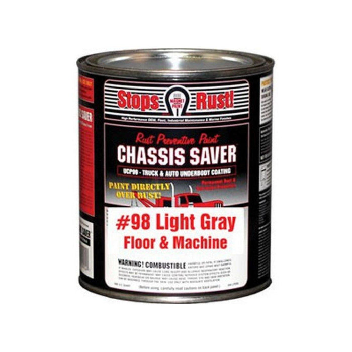 Chassis UCP98-04 Saver Paint Floor And Machine Gray 1 Qt - WeGotAutoPaint