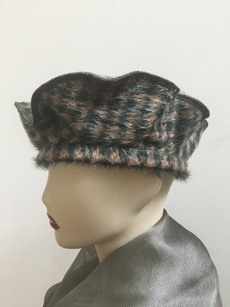 Fancy Turban Hats Wool Pillbox Hats Berets Vintage And Classic Hats Fir All Occasions Atooda