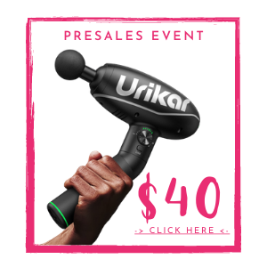 Urikar Pro 1 touch sensitive massager with 180 degree rotatable handle and 3 + 1 modes