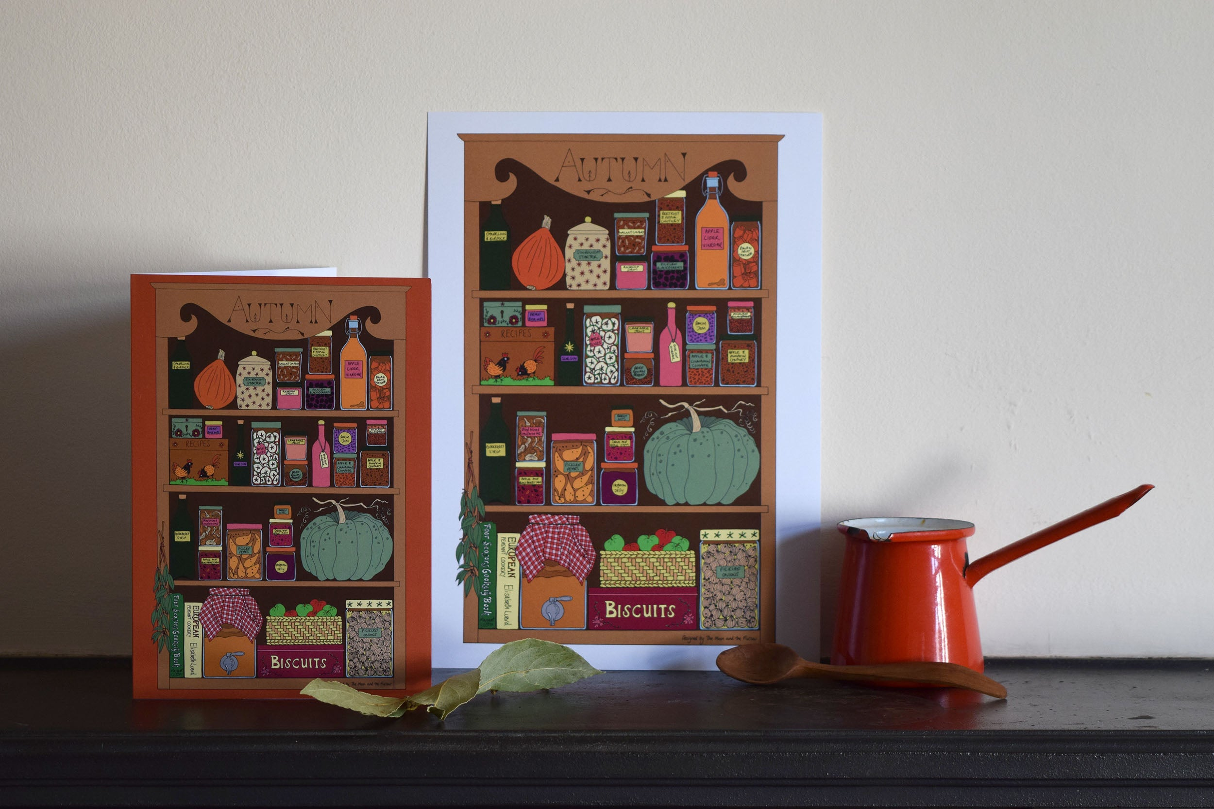 Autumn Kitchen greeting card