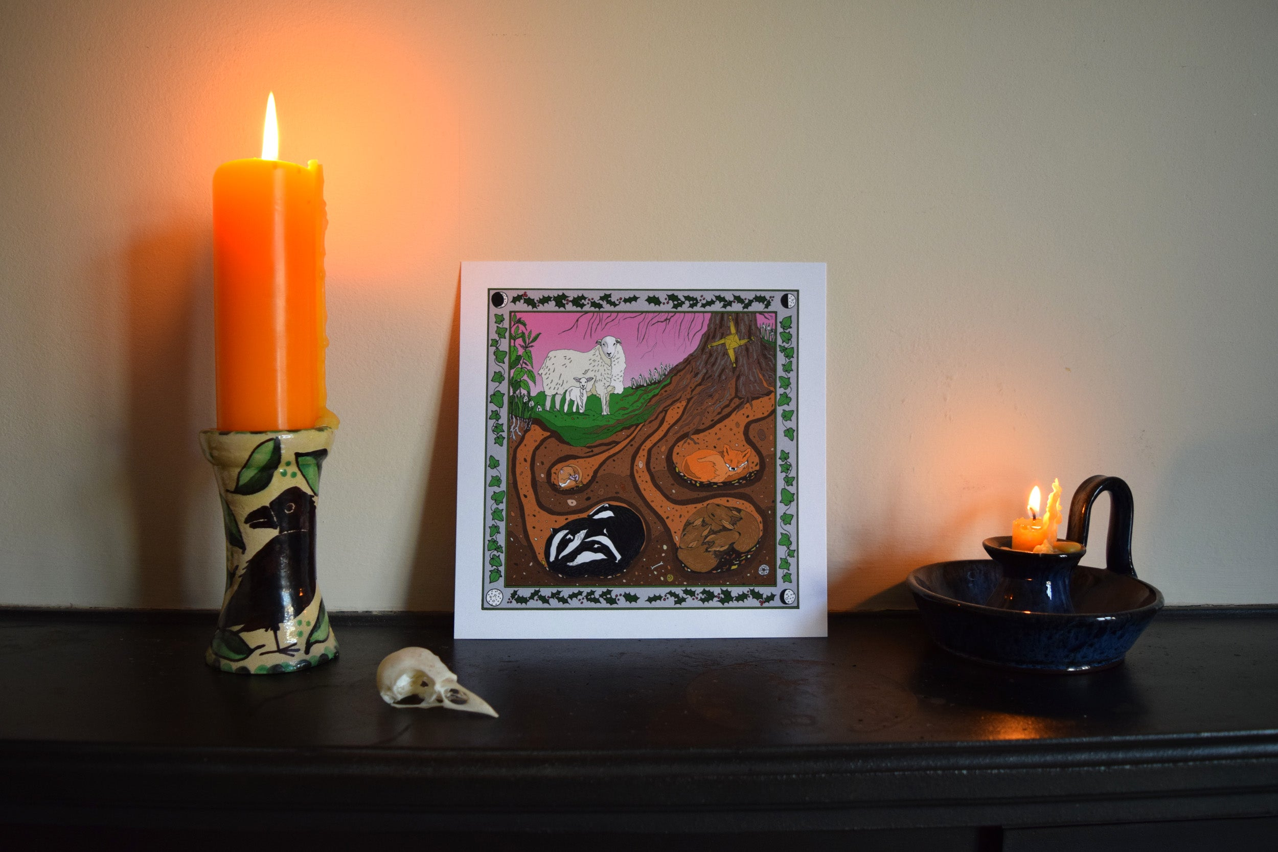 Imbolc Art print and booklet