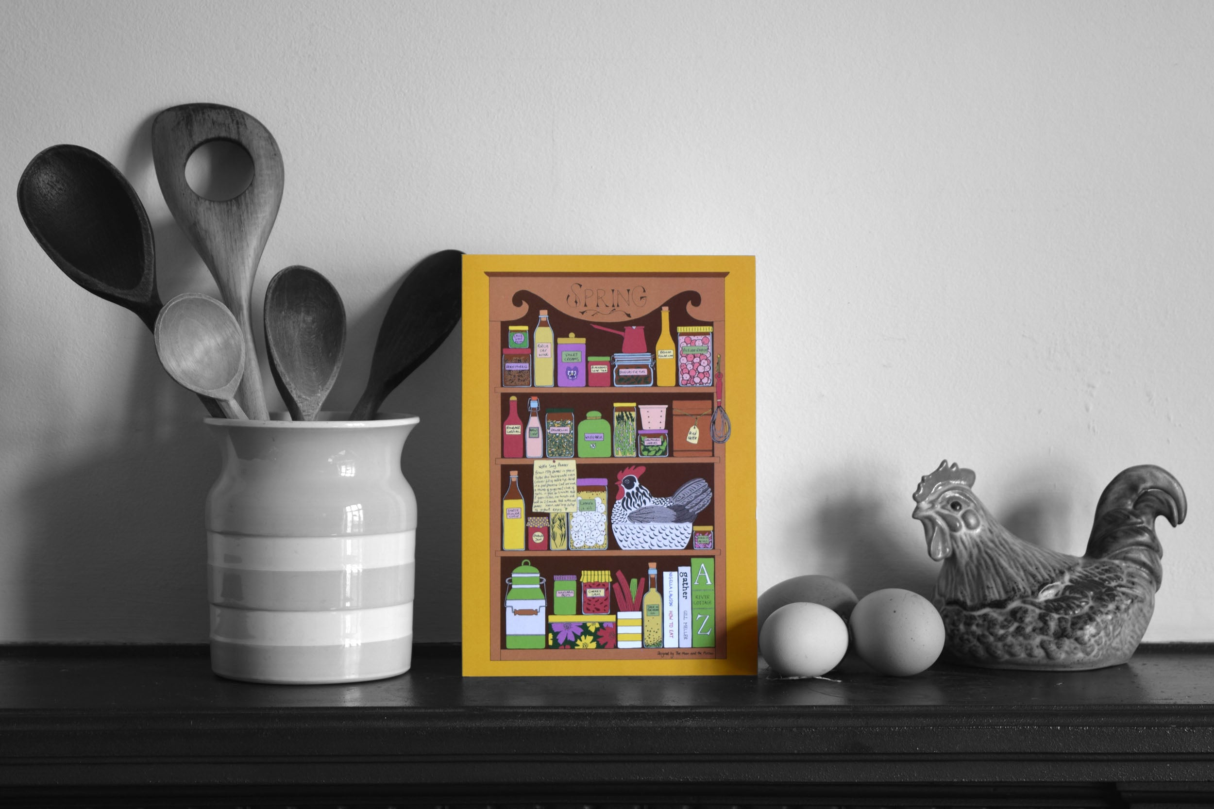 Four seasons in the Kitchen Greeting cards