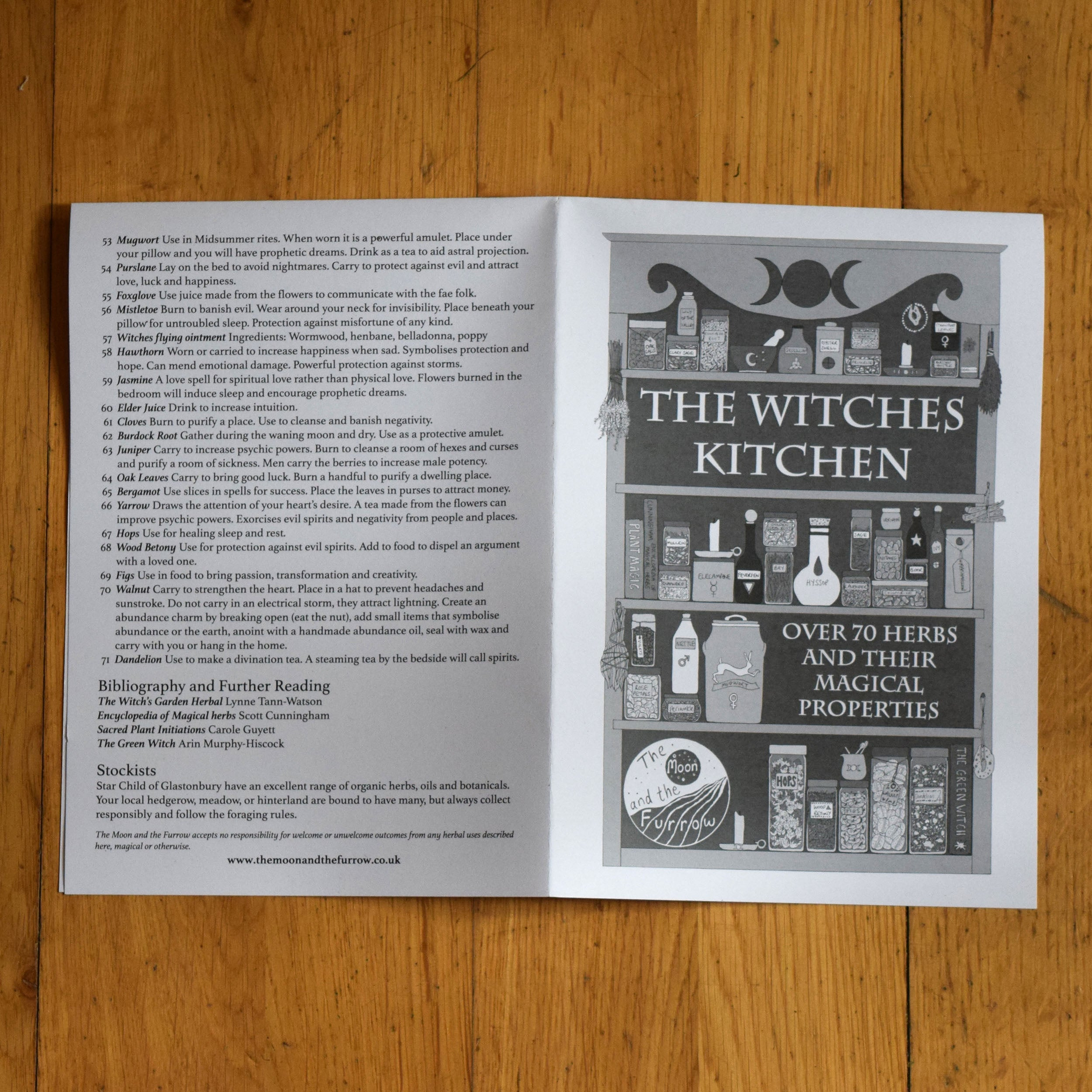 Witches Kitchen Organic Tea Towel