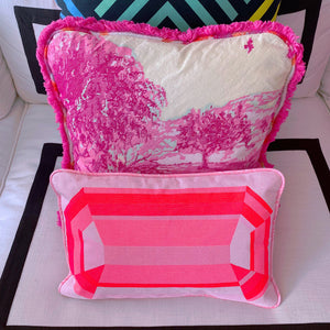 Gem Cushion Pink