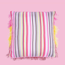 Load image into Gallery viewer, Rainbow Feather Cushion