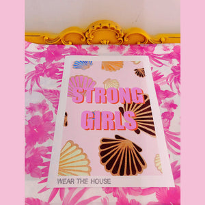 Strong Girls Shell Poster