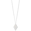 vertical diamond star necklace