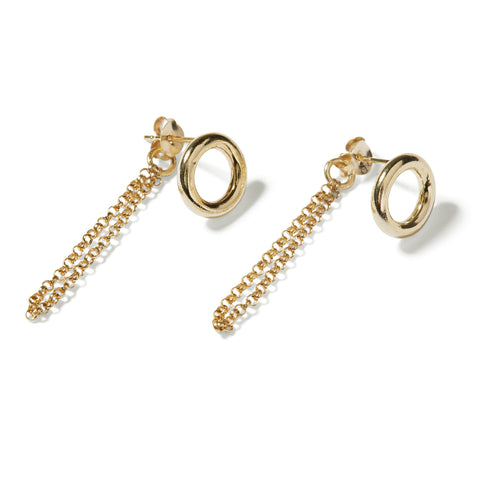 chunky chain earrings