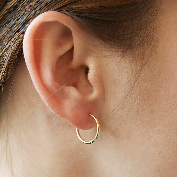 hoop earrings - small