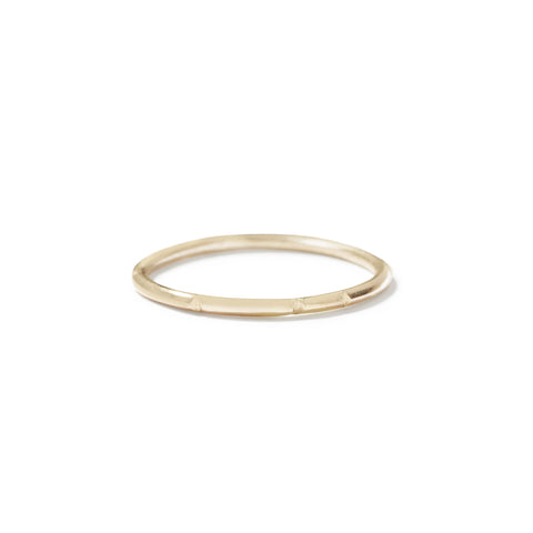 9ct stack ring