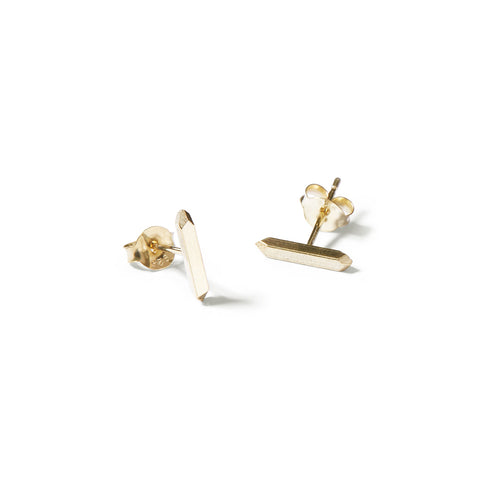 faceted bar studs