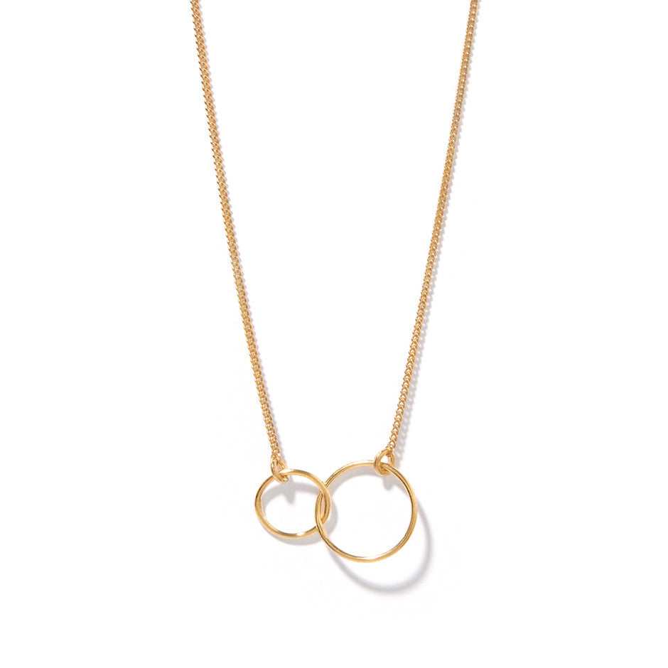 and by gold product graceandvalour entwined new necklace baby linked hearts valour sterling silver original grace