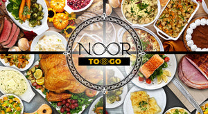 A Delicious Thanksgiving Dinner with Catering from NOORtoGO