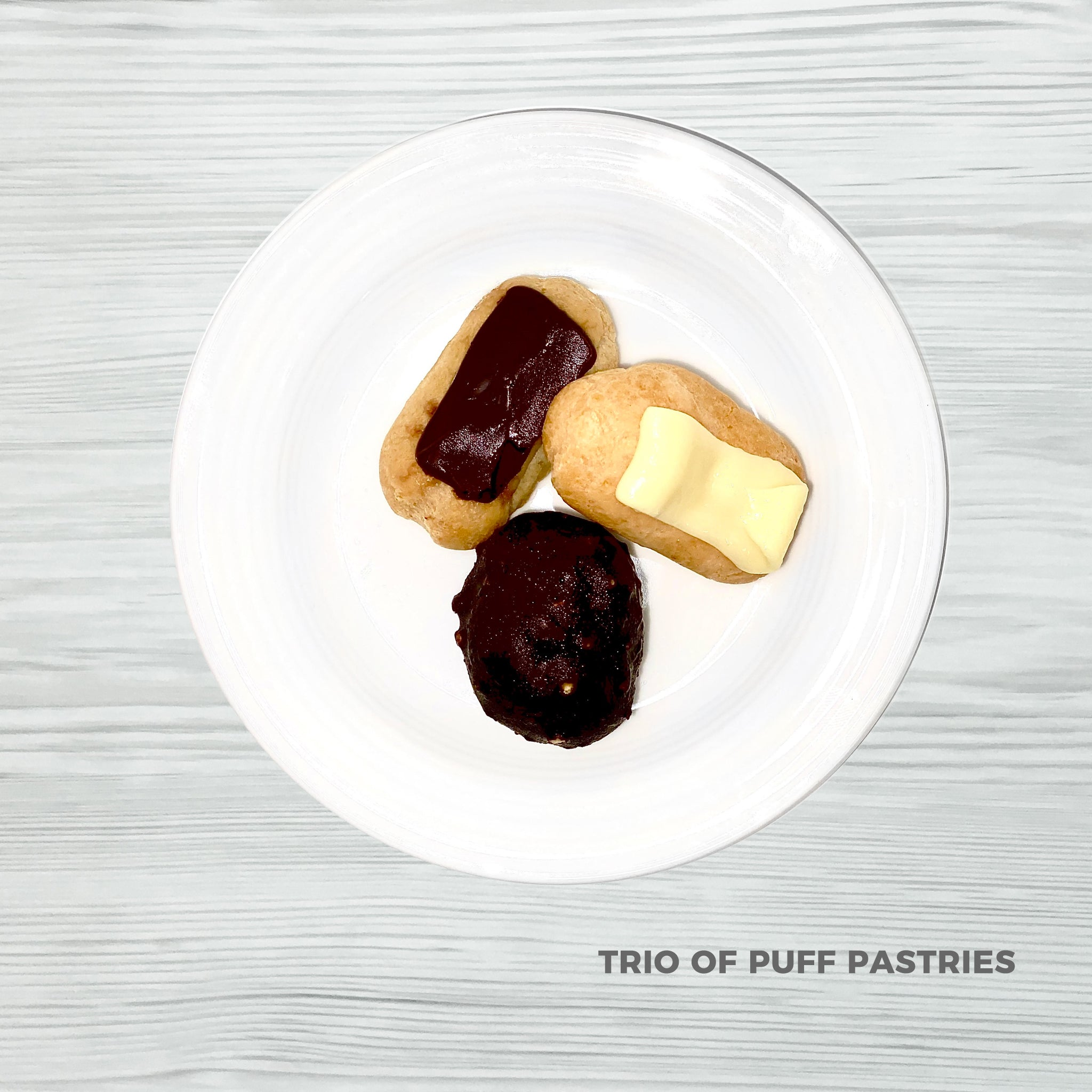 Trio of Puff Pastries