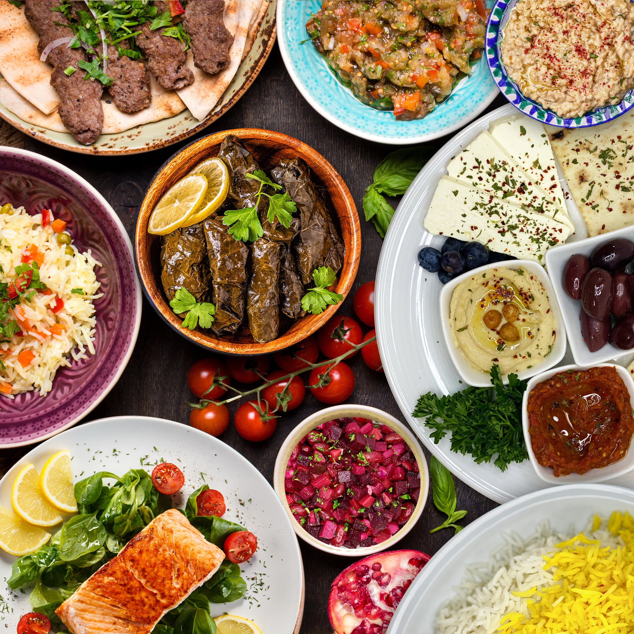 Deluxe Middle Eastern Dinner Catering Package